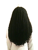 Micro locs Synthetic crochet sister loc 100%Kanekalon  hair Twist  Braids African Hair Extension 16inch 80roots/pack