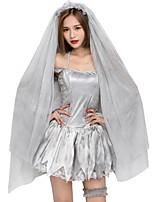 abordables -Novia Disfraces de Cosplay Mujer Navidad Halloween Carnaval Año Nuevo Oktoberfest Festival / Celebración Disfraces de Halloween Gris