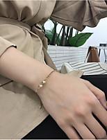 Недорогие -Жен. Браслеты-цепочки и звенья Искусственный жемчуг Мода Elegant Искусственный жемчуг Сплав В форме линии Бижутерия Назначение Свадьба
