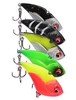 5 piezas de cebo duro g / onza mm pulgadas, cebo de pesca de mar de plástico de pesca de agua dulce otros curricán&barco pesca