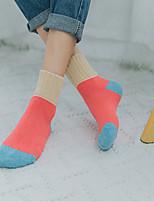 economico -Calzini Per donna Lana Multicolor Molto spesso,2pcs Rosa Cachi