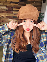 Women's Woolen Cloth Beret Hat,Vintage Casual Solid Spring, Fall, Winter, Summer Stylish