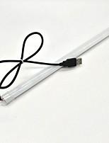 Zdm 33 cm usb 5 v wasserdicht 10 watt 24x5050 warmweiß / kaltweiß steif led-lichtleisten weiß pc rohr