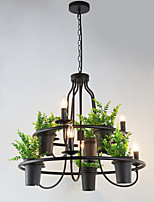 Rétro / Vintage Traditionnel/Classique Ajustable Lustre Lumière dirigée vers le haut Pour Chambre à coucher Salle à manger Magasins/Cafés