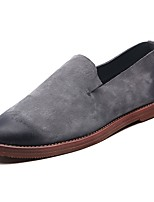 cheap -Men's Shoes PU Spring Fall Comfort Loafers & Slip-Ons For Casual Green Gray Black