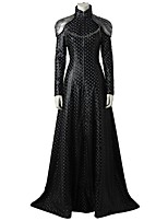 billige -Superhelte Game of Thrones Dragon Mother Et-Stykke Kjoler Cosplay Kostumer Film Cosplay Grå & Sort Kjoler Mere Tilbehør Halloween