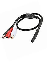 economico -wsdcam microfono del dispositivo di prelievo audio ad alta sensibilità per telecamere di sicurezza cctv
