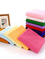 Style frais Serviette de bain,Solide Qualité supérieure Polyester/Coton Serviette