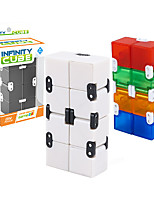 cheap -Infinity Cubes Fidget Toys Toys Toys Stress and Anxiety Relief Office Desk Toys Square Shape Plastics Places Classic Style Pieces Kids
