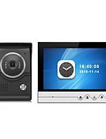 tela grande monitor de gravação em cores de 9 polegadas porta-voz porta-voz sistema de intercomunicação com câmera externa cmos