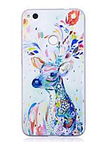 economico -Custodia Per Huawei P9 Huawei P9 Lite Huawei Huawei P8 Lite P8 Lite (2017) P10 Lite Fantasia/disegno Per retro Animali Morbido TPU per