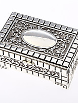 Cuboid Tins Favor Holder With Favor Boxes-1set Wedding Favors