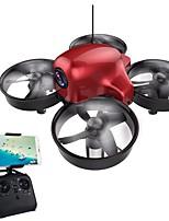 RC Drone DM107S 4 Canali 6 Asse 2.4G Con la macchina fotografica 0.3MP HD Quadricottero Rc Altezza Holding WIFI FPV Illuminazione LED
