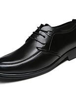 Men's Shoes Cowhide Spring Fall Comfort Oxfords for Casual Black