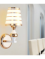 Wall Light Ambient Light Wall Sconces 8W 220V E27 Modern/Contemporary Brushed