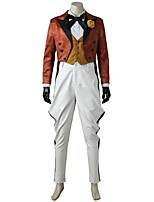 Burlesque/Clown Cosplay Cosplay Costume Costume Movie Cosplay White Vest Blouse Top Pants Gloves More Accessories Halloween Carnival