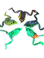 cheap -5 pcs Frog g/Ounce mm inch,Plastic Freshwater Fishing Lure Fishing
