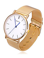 Women's Fashion Watch Chinese Quartz Alloy Band Casual Silver Gold