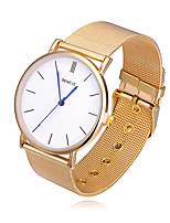 Mulheres Relógio de Moda Chinês Quartzo Lega Banda Casual Prata Dourada