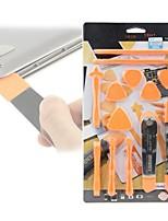 13 em 1 ferramentas de desmontagem set pry spudger ferramenta de abertura do rolo para iphone 7 6 5 para ipad para o reparo do tablet para
