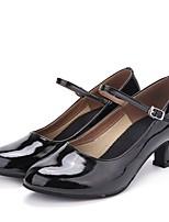 "cheap -Women's Modern Leatherette Sneaker Outdoor / Customized Heel Black 2"" - 2 3/4"" Customizable"