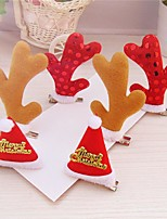 cheap -Party / Evening Christmas Party Favors & Gifts-More Accessories Gifts Photo Booth Props & Signs Paillette Cloth Alloy Animals Holiday