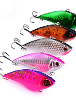 5 pcs Fishing Lures Fishing Tools Hard Bait g/Ounce,75mm mm/3
