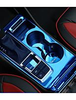 Недорогие -автомобильный Чехлы на коробках передач Всё для оформления интерьера авто Назначение Hyundai 2015 2016 2017 Новый Тусон Stailess стали