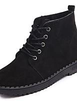 preiswerte -Damen Schuhe Gummi Winter Springerstiefel Stiefel Runde Zehe Für Schwarz Grün Khaki