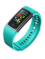 YY Men's Woman New CP66 Smart Wristband Heart Rate Exercise Sleep Monitoring Waterproof Anti Lost for IOS Android