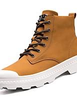 economico -Da uomo Scarpe Scamosciato Inverno Suole leggere Fodera di lanugine Sneakers Zero Zero / Per Casual Nero Giallo Caffè