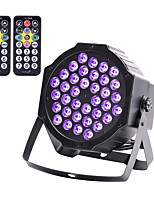 U'King LED Stage Light / Spot Light DMX 512 Master-Slave Sound-Activated Auto Remote Control Stand-alone for Party Club Professional High