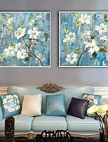 Botânico Floral/Botânico Ilustração Arte de Parede,PVC Material com frame For Decoração para casa Arte Emoldurada Sala de Estar Cozinha