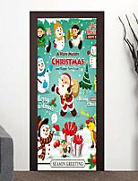 Недорогие -Рождество 3D Наклейки 3D наклейки Декоративные наклейки на стены,Винил Украшение дома Наклейка на стену For Стена