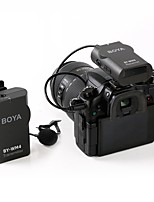 boya by-wm4 sans fil micro-cravate systme pour canon nikon sony panasonic dslr camscope appareil photo iphone android smartphone