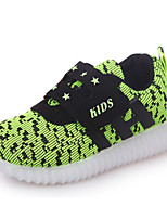 Boys' Shoes Breathable Mesh Spring Fall Comfort Sneakers For Casual Blue Green Fuchsia Black