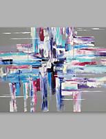 Dipinta a mano Astratto Orizzontale,Modern Un Pannello Tela Hang-Dipinto ad olio For Decorazioni per la casa