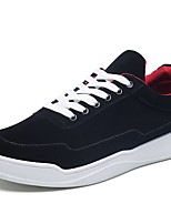 cheap -Men's Shoes PU Winter Fall Comfort Sneakers For Casual Black/Red Red Gray Black