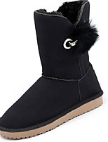 cheap -Women's Shoes Rubber Winter Snow Boots Boots Round Toe For Outdoor Pink Black