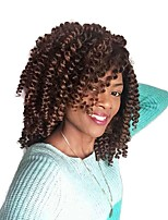 Twist Braids 2pcs/pack Hair Braid Curly Bouncy Curl 8 inch African Braids Ombre Braiding Hair Jamaican Bounce Hair Synthetic Hair