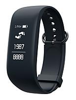 z08 bracelet bracelet fitness tracker id107 moniteur de fréquence cardiaque étanche smartband montre android