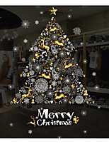 Christmas Fashion Holiday Wall Stickers 3D Wall Stickers Decorative Wall Stickers,Paper Material Home Decoration Wall Decal