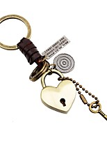 cheap -Keychains Jewelry Leather Alloy Heart Heart Fashion Daily Going out
