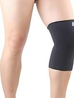 Attelle de Genou pour Cyclisme Randonnée Course/Running Fitness Jogging Unisexe Ajustable Extensible Respirable Sports Nylon 1pc