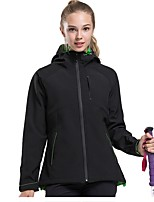 Unisex Hiking Jacket Outdoor Windproof Rain-Proof Wearable Top Single Slider for Casual Camping Outdoor Winter Sports