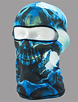 cheap -Balaclava All Seasons Windproof Sunscreen Dustproof Breathability Hiking Motor Bike Cycling / Bike Unisex Lycra Bone