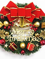 1pc Christmas Ornaments Garland for Holiday Decorations 30*30