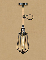cheap -Retro/Vintage Traditional/Classic Pendant Light For Dining Room Shops/Cafes AC 110-120 AC 220-240V Bulb Included