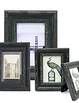 cheap -Europeam Retro Black Decorative Wooden Carve Picture Frame Vintage Courtly Photo Frames Y127B