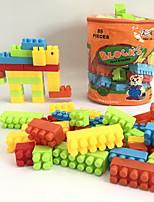 cheap -Building Blocks Toys Elephant Animals Animal Shape 3D Cartoon Animals Family Animals Handbags Cartoon Toy Cartoon Design DIY Kids 86
